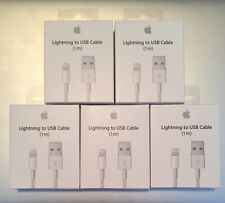 5X - OEM Original Lightning USB Charger Cable For Apple iPhone 6 6s 6 Plus