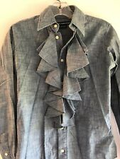 Raulph Lauren Sport, Shirt, Long Sleeve, Blue, Button Down, Size 2