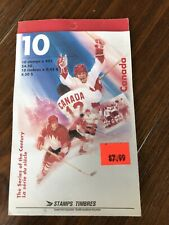 Team Canada 1972 Book of 10 Stamps (45 cents) Series of the Century