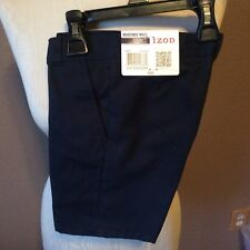 Izod Boys Size 4 Flat Front Dress Shorts, NEW WITH TAGS