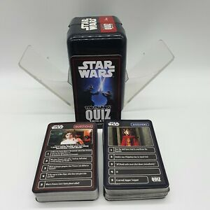 Top Trumps Star Wars Quiz With A Twist Card Game Collectable complete Disney