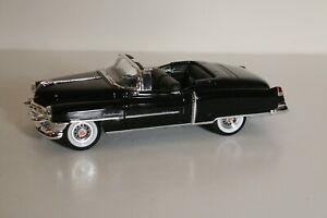 Welly 1953 Cadillac Eldorado Convertible Black 1:24 Scale Diecast Model Car