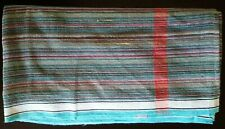 Large Striped Cotton Lightweight Indian Bath Beach Travel Towel Gamcha Wrap