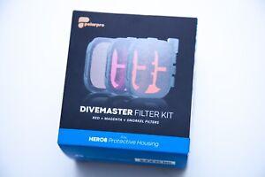 PolarPro DiveMaster Filter Kit GoPro HERO8 Black Snorkeling Scuba Diving