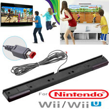 Wired Infrared Receiver Sensor Bar + Stand Motion Sensor For Nintendo Wii Wii U