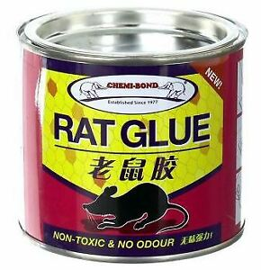 RAT GLUE TRAP MOUSE MICE RODENT PEST INSECT BUG STICKY ODOURLESS NON TOXIC 220ml