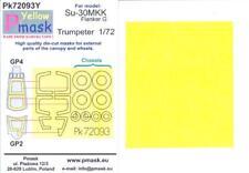 Model Maker 1/72 SUKHOI Su-30 MKK FLANKER Kabuki Tape Paint Mask Set Trumpeter
