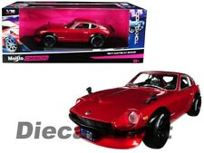 Maisto 1:18 Tokyo Mod 1971 Datsun 240Z Red Diecast Model Car New 32611