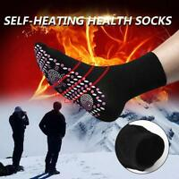 1x Health Self Heating Tourmaline Foot Pain Relief Therapy Socks Unisex