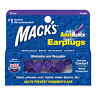 Mack's AquaBlock Earplugs, 2 Pair, Comfortable, Waterproof,Swimming Ear Plugs