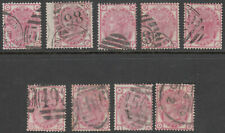 Uk - Great Britain Sg.144 - 3d. Pale-Rose (Complete Plates 11/20) 1873-79 - 550