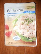 Nutrisystem Tuna salad LOT OF 6 LUNCH pouches fish