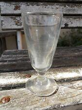 Ancien grand verre à absinthe de Bistrot Bar... avec limite de marquage doseur