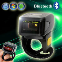 DC-R30 Drahtloser Mini-Ring-Barcode-Scanner Handheld Fr IOS Android Smartphone