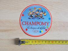 Autocollant / sticker Boisson CHAMPOMY
