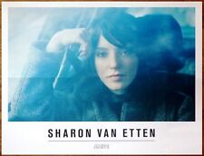 Sharon Van Etten Are We There Ltd Ed Discontinued Rare Poster +Free Indie Poster