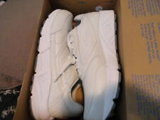 BROOKS ADDICTION MENS 9 4E  WHITE LEATHER ATHLETIC NEW IN BOX