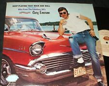 GARY EMERSON Hits from the 50's LP PRIVATE ROCK ROCKABILLY VINTAGE CAR COVER