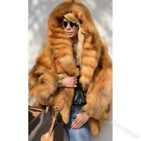 womens faux fur hooded thick short coat furry parkas outdoor winter warm jackets