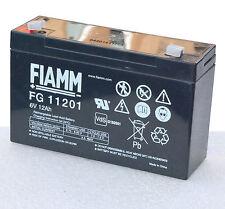 BATTERIA per gruppo di continuità UPS 6v 12a 12ah fg11201 FIAMM 6 Volt 12 AMPERE ak2