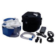 DeVilbiss Vacu-Aide QSU Suction Unit 7314P-D Portable w/ Battery NEW