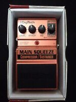 Compressor Sustainer Main Squeeze Digitech