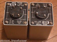 Pair of HIRATA TANGO interstage transformer NC-15 for DA-30, PX-25, 300B