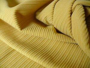 6Y CLARENCE HOUSE WOOL STRIPE EPINGLE YELLOW GOLD MSRP$139/Y #1339