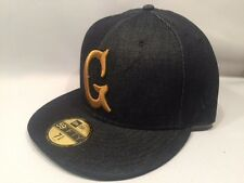 New Era Acapulco Gold Denim G 59FIFTY Fitted Cap Hat $50 Size 7 Navy