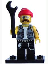 Lego Series 10 Motorcycle Mechanic col10-16 Collectible Minifigure Figurine New