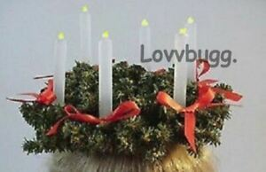 St Lucia Wreath Kirsten Swedish for 18inch American Girl Doll Clothes LOVVBUGG🐞