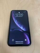 Apple A2105 iPhone XR 256GB Black Unlocked ( GSM ) Please Read The Description