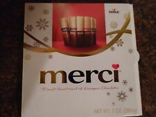 Storck Merci Finest European Assortment Chocolates 7 oz 16 Piece Box 8 FLAVORS