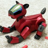 Sony Aibo | Ers-210A Holiday Red - Super Core - Robot Dog - Roboter Hund - boxed