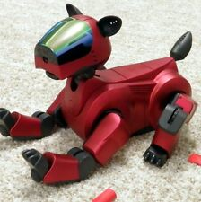 SONY AIBO | ERS-210A/R HOLIDAY RED - SUPER CORE EDT - ROBOTER HUND - BOXED