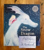 SIGNED 1ST EDITION of THE SNOW DRAGON + LIMITED ED PRINT. ELPHINSTONE & WOODCOCK