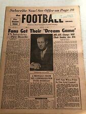 1966 Football News NFL Commissioner PETE ROZELLE Announces NFL vs AFL Super Bowl