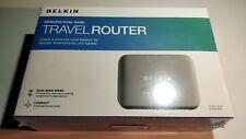 F87 - Belkin Wireless WiFi Dual Band Travel Router F9K1107 -  New Opened Box