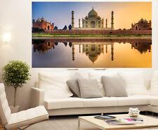 200cm x 100cm  taj mahal india canvas print landscape  photo sunset  huge size