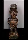Old Tribal Bakongo Fetish Figure   ---  Congo