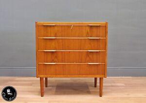 60er Teak Kommode Danish Mid-Century 60s Cabinet Vintage Teakwood