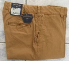 NWT-Bills khakis M3-DTH4 Hampstead Twill Sz 32 PLAIN Dried Tobacco TRIM FIT $165