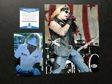 Vince Neil signed autographed Motley Crue 8x10 Photo Beckett BAS cert PROOF!!