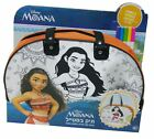 Moana Disney Color Your Own Tote Bag Kids Craft Set 5 Markers