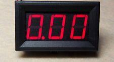 Mini Red LED Digital Panel AMP Meter Gauge 0~9.99A