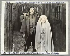 Photo THE VICTORY OF CONSCIENCE Frank Reicher CLEO RIDGELY Lou Tellegen *