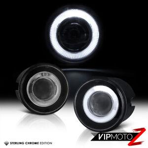 For 05-10 Chrysler 300 300C LED Halo Projector Fog Light Bumper Lamp w/ Harness