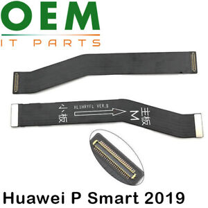 For Huawei P Smart 2019 Motherboard Main PCB Board Connector Flex Cable New