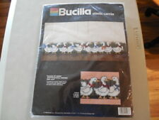 New Bucilla Plastic Canvas Needlepoint / Wall Hanging - Gaggle of Geese  5998
