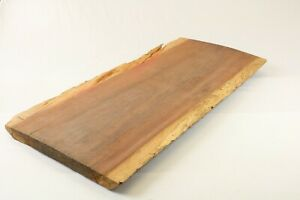 Purpleheart Exotic Epoxy Natural Live Edge Wood Slab Lumber End Table 1.6x20x40